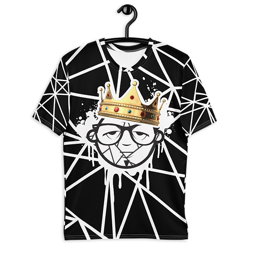 """UQC """"Heavy Is The Head """" All Over Graphic Tee"""