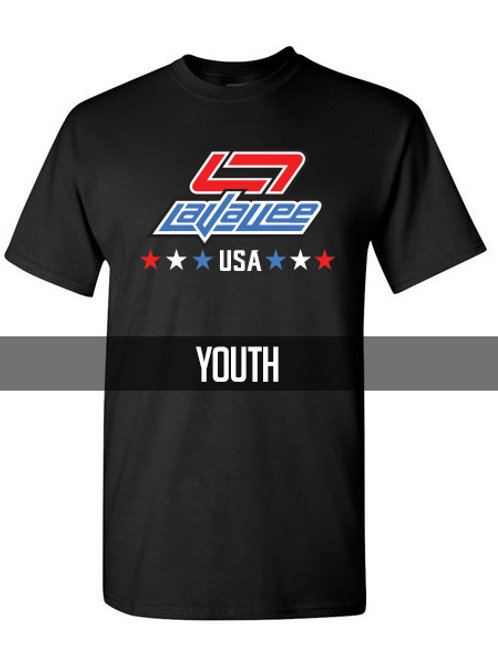 New YOUTH LaVallee USA 2021 TShirt