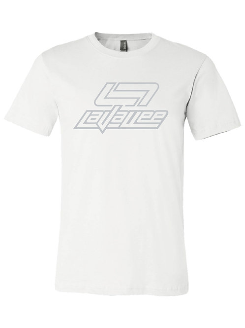 YOUTH STENCIL CLASSIC LAVALLEE TEE 21 (WHITE)