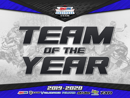 TEAM LAVALLEE NAMED 2020 SNOCROSS TEAM OF THE YEAR