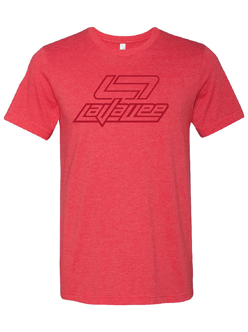 YOUTH STENCIL CLASSIC LAVALLEE TEE 21 (RED)