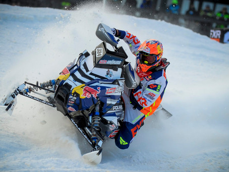 PALLIN IS BACK ON TRACK AT SNOCROSS OPENER IN DULUTH