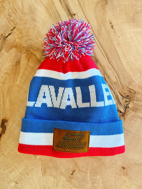 LAVALLEE Patch Beanie 21 (BLUE)