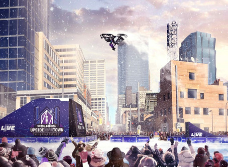 Levi LaVallee to Perform Thrilling Snowmobile Stunt at 'Polaris UpsideDowntown' on Super