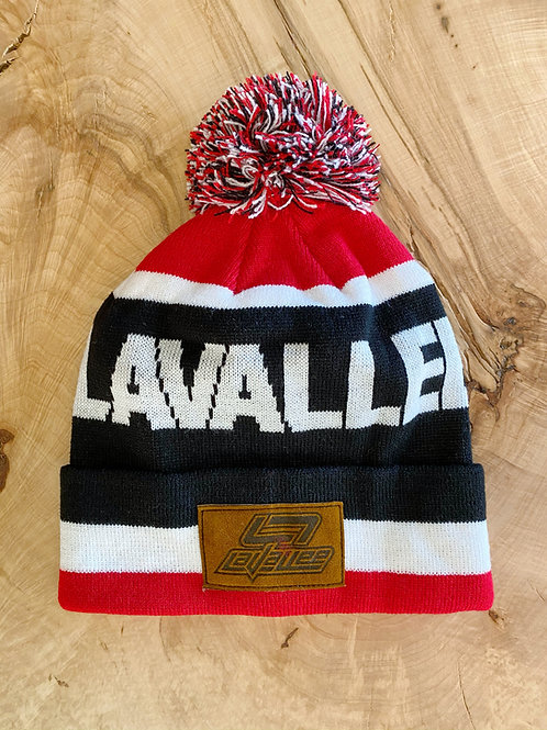 LAVALLEE Patch Beanie 21 (Black)