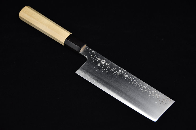 Takada No Hamono Silver #3 HH Reika Nakiri 180mm Bois de Ho