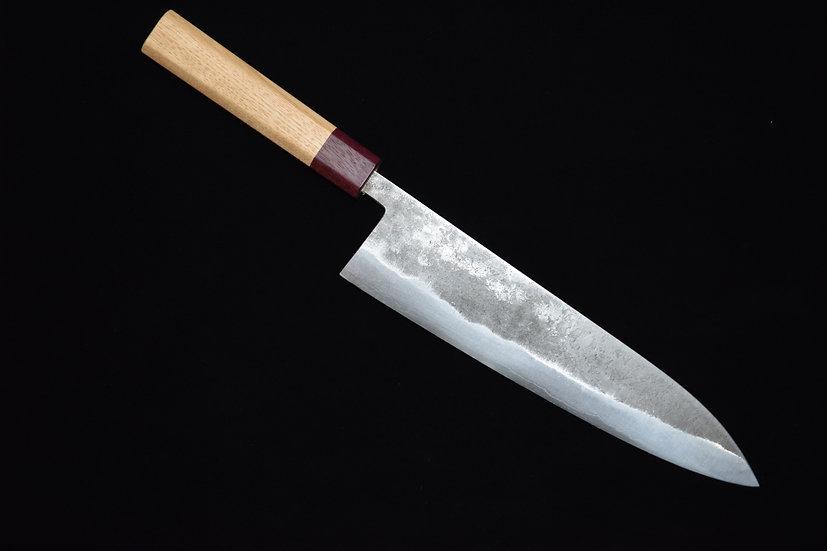 Goko Hamono Gyuto 240mm Shirogami # 1 Oak Wood