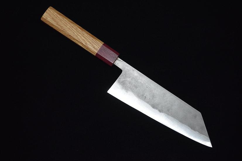 Goko Hamono Bunka 170mm Shirogami #1 Bois de Chêne