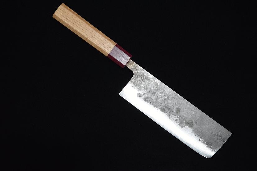 Goko Hamono Nakiri 165mm Shirogami #1 Bois de Chêne