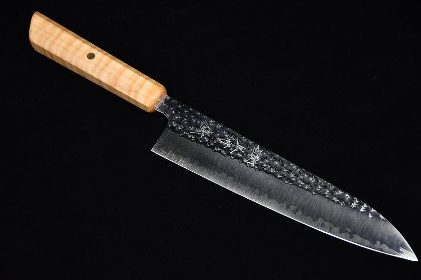 Yu Kurosaki SG2 Senko Gyuto 210mm Pique Maple Wood no.8