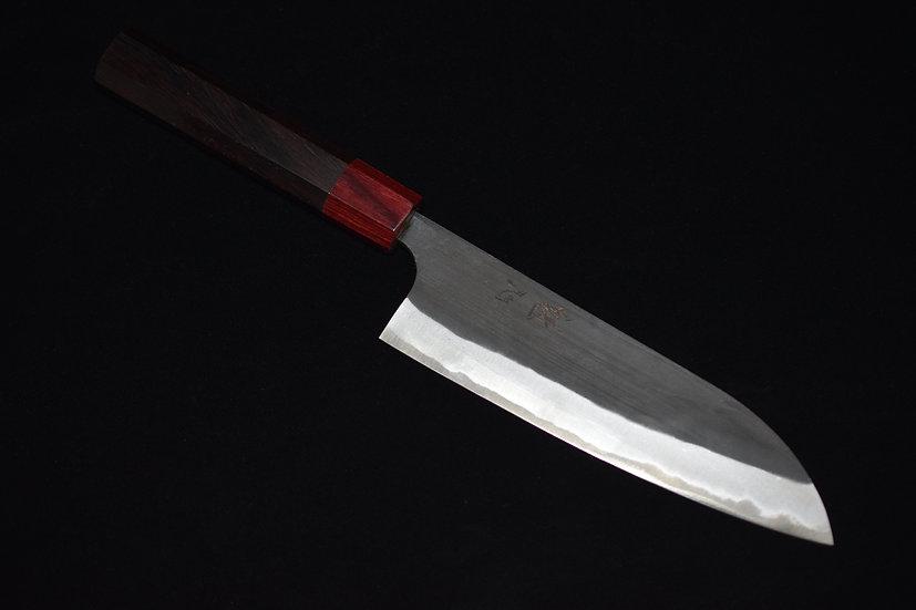 Kaishin Kurouchi Santoku 165mm Rosewood