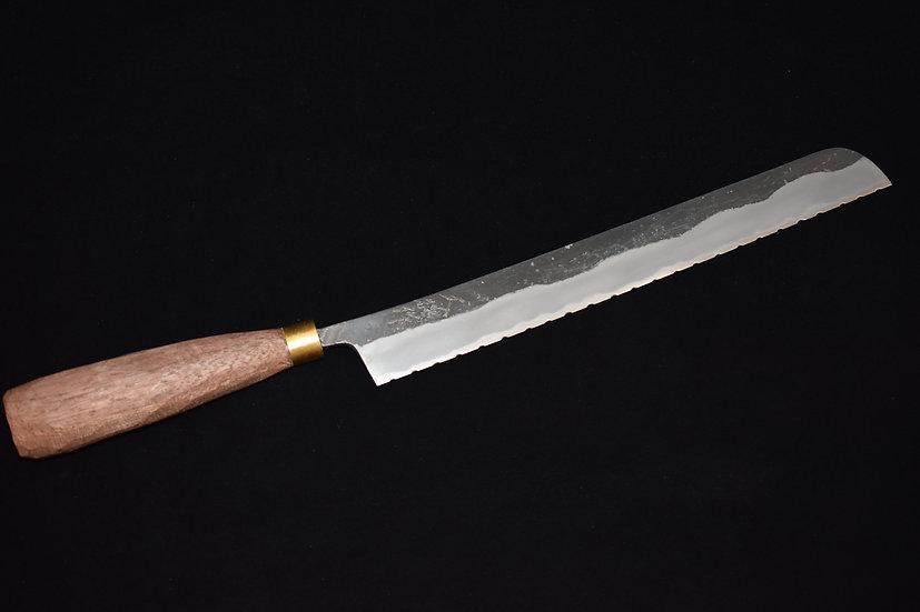 Daitoku Aogami no.2 Couteau à Pain 240mm Bois de Noyer