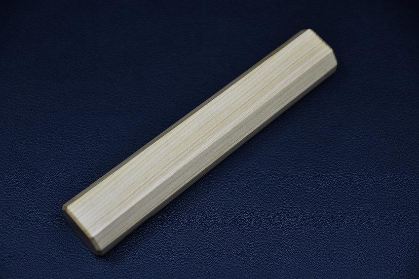 Hitohira Manche en bois Aomori Hiba 130mm