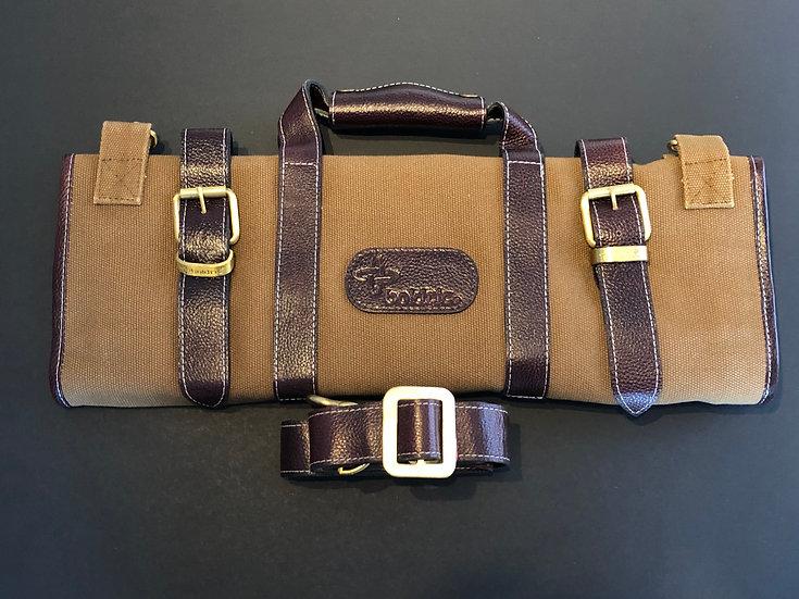 Boldric Knife Case, 17 pockets Color Brown
