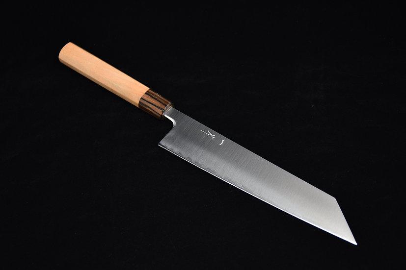 Hitohira Futana SB Migaki Kiritsuke Gyuto 210mm Cherry Wood