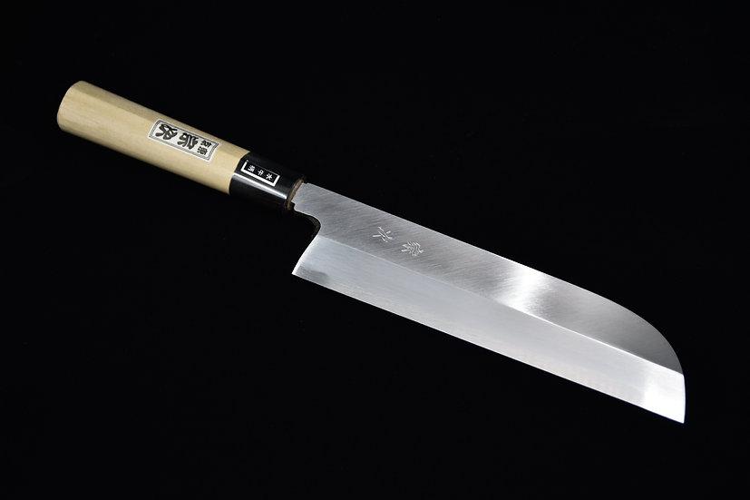 Morihei Munetsugu Shirogami #2 Kamagata Usuba 225mm Bois de Ho