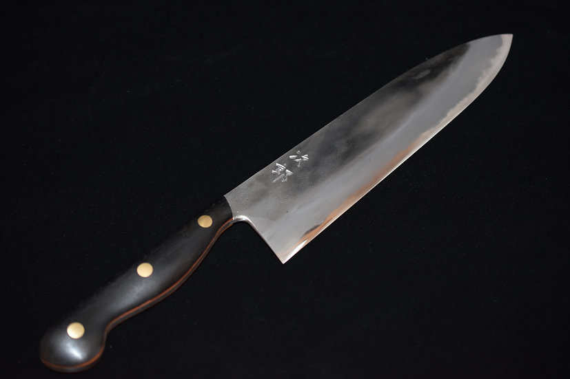 Jiro Tsuchime Yo Gyuto 240mm Ebony Handle # 95