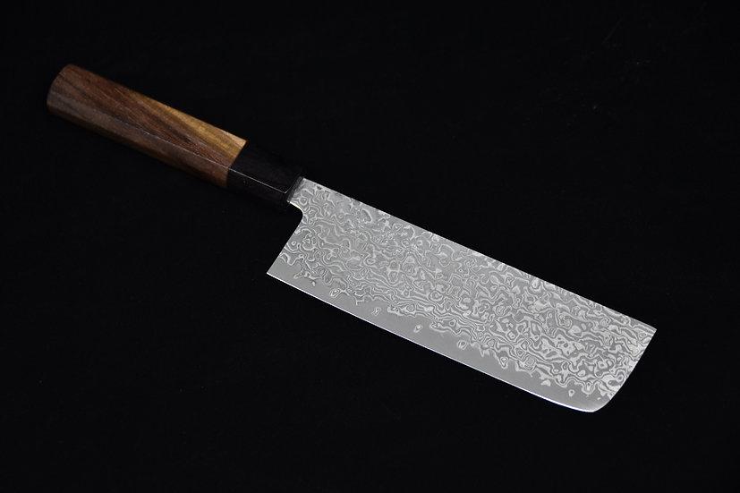 Yoshimi Kato Black Damascus Nakiri 165mm