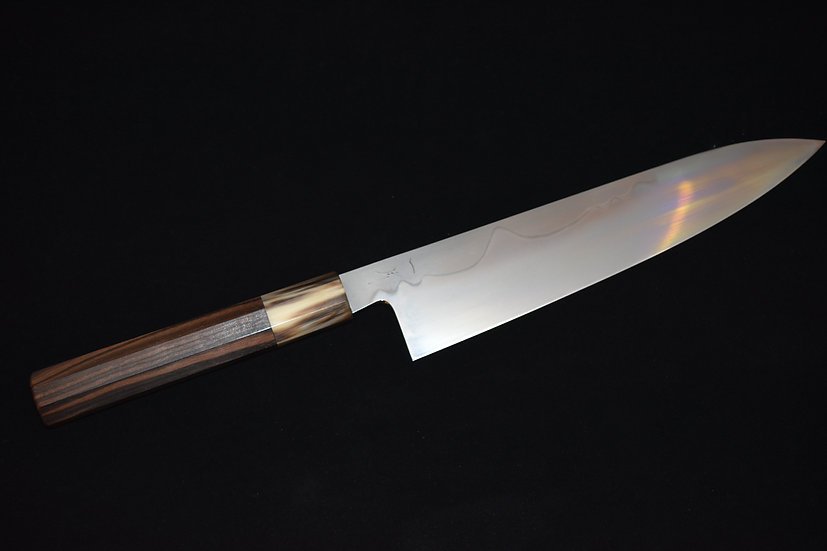Hitohira Togashi Yohei Shirogami no.1 Fuji Honyaki Gyuto 240mm no.12