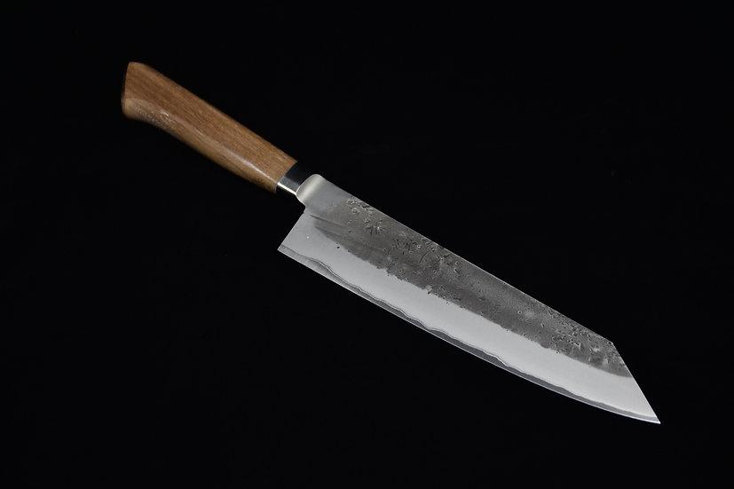 Ittetsu Aogami # 2 Kiritsuke Gyuto 210mm Walnut Wood