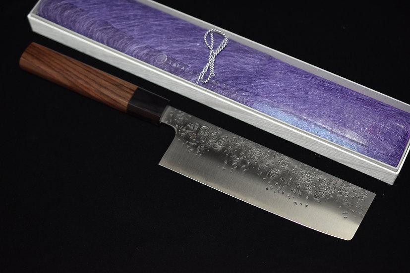Takada No Hamono HH Reika Shirogami # 2 Nakiri 180mm Rosewood