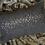 Thumbnail: Handgefertigte Leinenkissenhülle mit Kristallmotiv