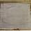 Thumbnail: Tischset aus Naturleinen in den Farben Grau/Dunkelgrau/Natur 45 x 37 cm
