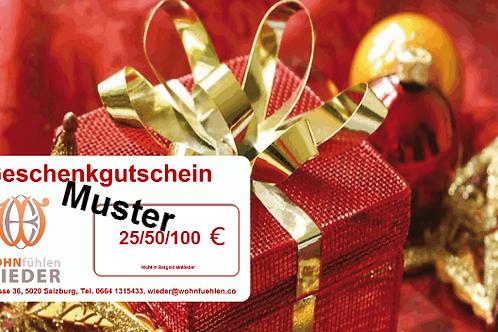 Geschenkgutschein 25 € ...