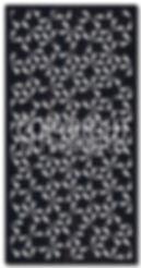 laser cut screen pattern