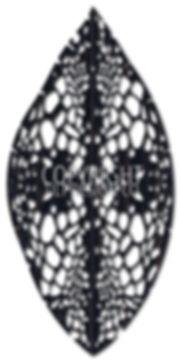 laser cut wall art in shield shape