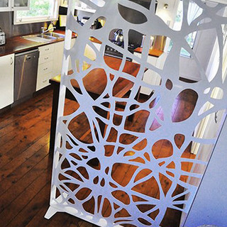decorative freestanding screen