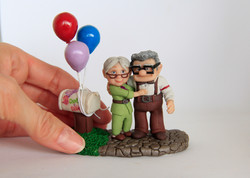 "Disney Pixar ""UP"" Carl & Ellie"