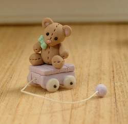 Teddy Pull Toy
