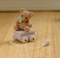 Teddy Pull Toy