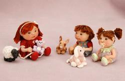 Matilda, Jessie, and Jenni