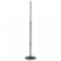 K & M 5ft straight round base mic stand.