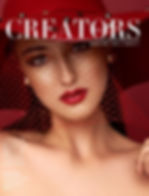 Creators Mag - Cover of Libs spread issu