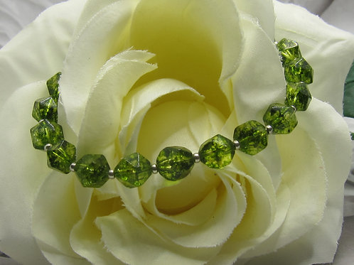 Green Quartz bracelet