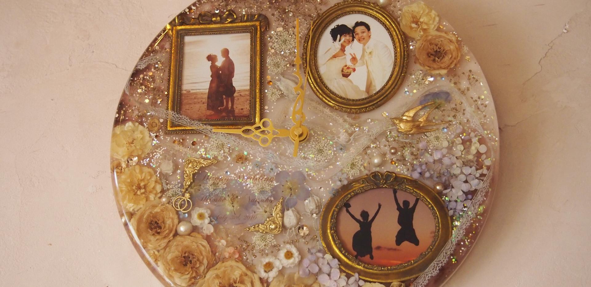WA-03 Wedding-花時計