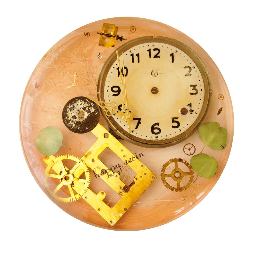 時計部品の壁掛け時計