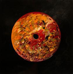 Cercle de vie rouge