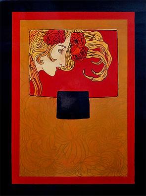 Femme Art Deco