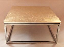 Table basse Or
