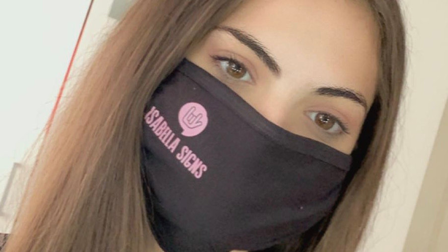 Isabella Signs Face Mask