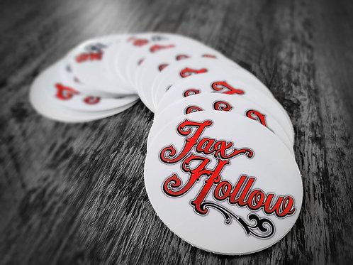 Jax Hollow stickers