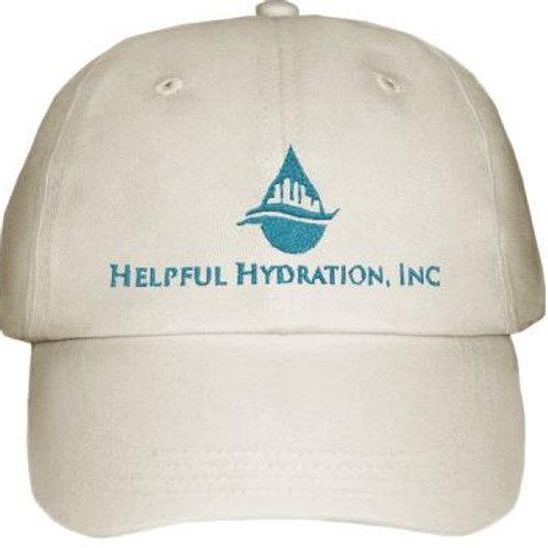 Khaki Helpful Hydration Hat