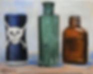 The Poison Bottle (8 x 10) oil on linen.
