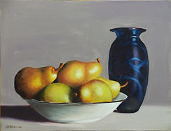 Poires Williams et Vase  (12 x 16).jpg