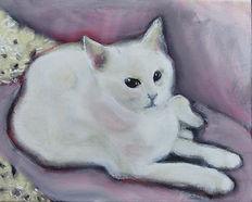 Arwen At Motel (8 x 10) oil on canvas.jp
