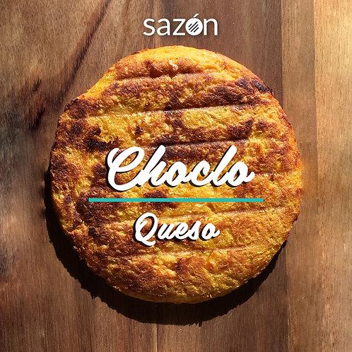 Arepa de Choclo con Queso (8 pcs)